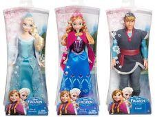 NEW DISNEY FROZEN SPARKLE 3 DOLL SET: Elsa, Anna & Kristoff