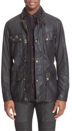 Men's Belstaff 'Trialmaster Vintage' Waxed Cotton Jacket https://api.shopstyle.com/action/apiVisitRetailer?id=532529446&pid=uid8100-34415590-43