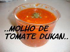 Molho de Tomate Dukan (Fase de Cruzeiro)