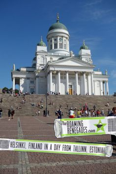 Helsinki in a day. Exploring the wonderful capital of Finland after a ferry ride from Estonia!
