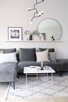 Attractive Living Room Wall Decor Ideas To Copy Asap fine The Nuiances of Attractive Living Room Wall Decor Ideas To Copy Asap By this time, you already understand what you will be storing on the shelves. Living Room Grey, Living Room Interior, Living Room Decor, Living Rooms, Charcoal Sofa Living Room, Interior Livingroom, Living Room Sofa, Home Design, Interior Design
