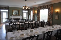 Audubon Room at the McClellan House - Rehearsal Dinner