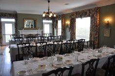 Audubon Room at the McClellan House - Rehearsal Dinner
