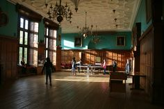 This is a photo of the main hall where the young people would engage with each other in their spare time