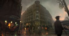 Assassin's Creed: Unity Concept Art by Nacho Yagüe