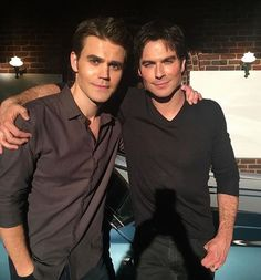 Goodbye Paul and Ian and thank you for 8 wonderful seasons TVD Forever 8/2/17