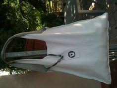 """""""creare col cuore"""" white bag"""