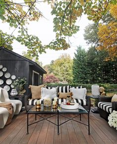Fall Patio Revamp With Serena Lily