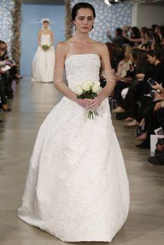 Oscar de la Renta Bridal Spring 2014 - Slideshow - Runway, Fashion Week, Reviews and Slideshows - WWD.com