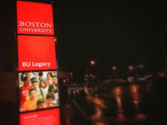16 hours drive and there it is #bu#bostonuniversity#boston by jimmmmmj