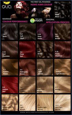 Olia by Garnier. 4.6 dark intense auburn.My new favorite hair dye.