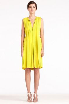 DvF Missy Dress, $598 - So much draping! Love this!