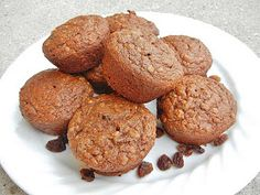 One Healthy Munchkin: Spiced sweet potato muffins
