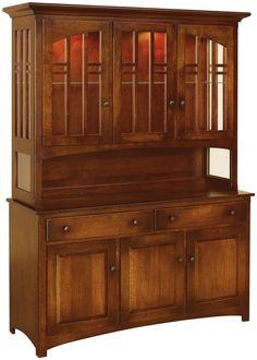 Luxury Mission Style Liquor Cabinet