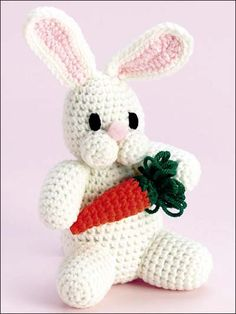 Crochet - Holiday & Seasonal Patterns - Easter Patterns - Baby Bunny