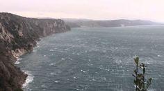 trieste bora | Bora sul Golfo di Trieste - YouTube