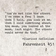 Quotes From Fahrenheit 451 Gorgeous Ray Bradbury Fahrenheit 451  Words  Pinterest  Pretty Words