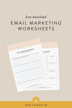 Email Marketing Worksheets — The Busy Bee Email Marketing Strategy, E-mail Marketing, Internet Marketing, Business Calendar, Marketing Calendar, Worksheets For Kids, Homeschool Worksheets, Phonics Worksheets, Alphabet Worksheets