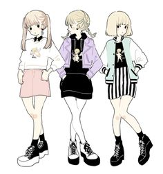 art cute fashion anime kawaii Grunge pastel Japanese Fashion pastel goth Tokyo Fashion