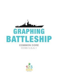 Coordinate Plane Battleship Game Printable  Printable Coordinate