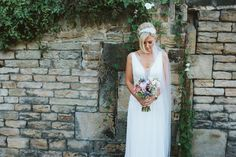 We specialise in bohemian dresses at Lace & Co. Real Bride Emma wearing Daphne by Rembo Styling