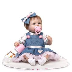 Real Life Baby Dolls that Look and Feel Real 22 Inch Baby Doll for Play Asian Reborn Baby Girl Baby Doll Toys, Newborn Baby Dolls, Reborn Baby Girl, Baby Girl Dolls, Baby Girl Gifts, Reborn Babies, Girl Toys, Baby Boy, Bebe Real