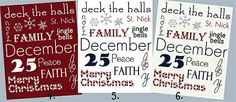 DIY Christmas Decor: Framed Subway Art (Free Printables!) | Couponing 101