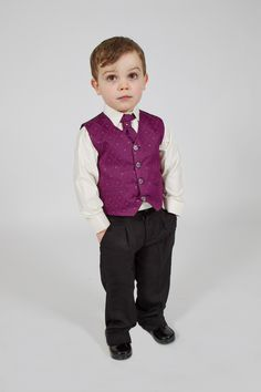 Check this handsome man looking as cool as a cucumber in our Vivaki 4 Piece Suit in Purple ;) #vivaki #suit #boys #wedding #occasionwear #handsome #kidsfashion
