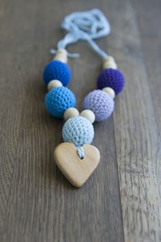 teething necklace  Collana Allattamento