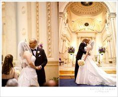 St. Aloysius Church   Washington, DC wedding   Katelyn James Photography   wedding by Bella Notte   www.bellanottedc.com