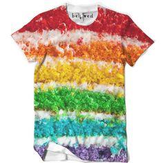 Rainbow Cake Men's Tee