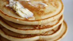 Tall, fluffy pancakes