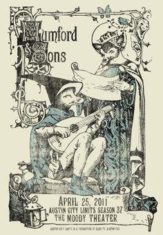 Art Nouveau - tendrils, borders, embellished stroke endings, stylization of figures, stylization of gothic lettering