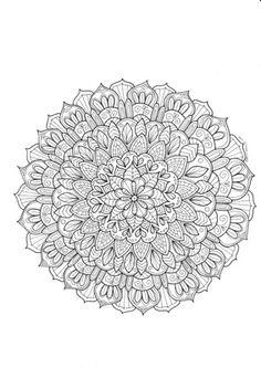 Mandala coloring page. Print free coloring pages from www.paivivesala.com/varityskuvia