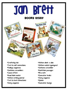 Sarah's First Grade Snippets: Jan Brett Pack and a freebie