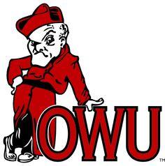 Alumni Desert Cactus Ohio Wesleyan University OWU Battling Bishops NCAA Metal License Plate Frame for Front or Back of Car Officially Licensed