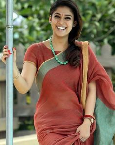 Nayanthara Bhaskar The Rascal Film Stills, Nayanthara Bhaskar The Rascal Movie Stills, Nayanthara Bhaskar The Rascal Stills, Nayanthara Latest Stills, Nayanthara Bhaskar The Rascal Movie Pics Blouse Back Neck Designs, Blouse Designs, Indian Attire, Indian Wear, Indian Outfits, Indian Clothes, Bhaskar The Rascal, Cinema Actress, Latest Fashion Design