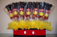 Minnie Y Mickey Mouse, Fiesta Mickey Mouse, Mickey Mouse Baby Shower, Theme Mickey, Mickey Mouse Clubhouse Birthday Party, Mickey Mouse Parties, Mickey Party, Mickey Mouse Birthday, 2nd Birthday