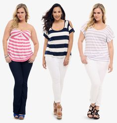Love at first stripe...I like the one in the middle with one of my many anchor necklaces.