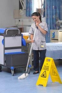 Превърнете чистачите в професионални хигиенисти