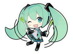 80 Hatsune Miku emoticons free download