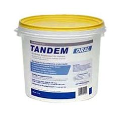 Tandem Oral Nutritonal Supplement for Horses, 5.2 lbs Pail by Tandem Oral Nutritonal Supplement for Horses, 5.2 lbs Pail. $97.95. Oral Supplement. Contains Hyaluronic Acid. Contains Chondroitin sulfates C4 & C6. Contains  N-acetyl-D-glucosamine.. Maintenance of joint health. Tandem Oral Supplement for horses contains Hyaluronic Acid (HA) and Chondroitin and is given to horses in training, with arthritis, following joint or polyglycon injections and post-arthroscopic procedures. ...