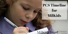 PCS Timeline for Mil