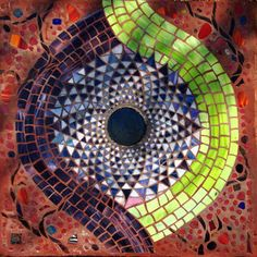 5A Seventh Chakra - Sahasara, Mosaic Labyrinth, 5A - 48/52