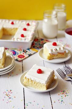 Tres Leches Cake I MADE THIS CAKE AND IT WAS AMAZING!! MEL