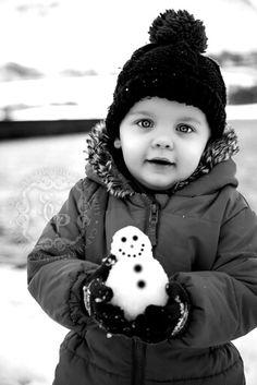 <3 my #godson so much :-) #saracallowphotography #saracallow #photography #photographer #snow #cute #toddler #boy #cute #snowman #fun #natural #happyboy
