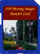 British Columbia moving images memart card for the digital picture frame. Find previews @ 3vpmiart.com