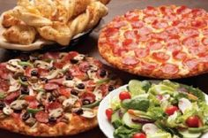 Round Table Pizza - lunch buffet