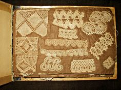 Stitches Of The Past ~ Antique And Vintage Crochet Sampler Stitches Book