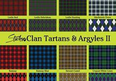 Scottish Clan Tartans & Argyle Patterns II